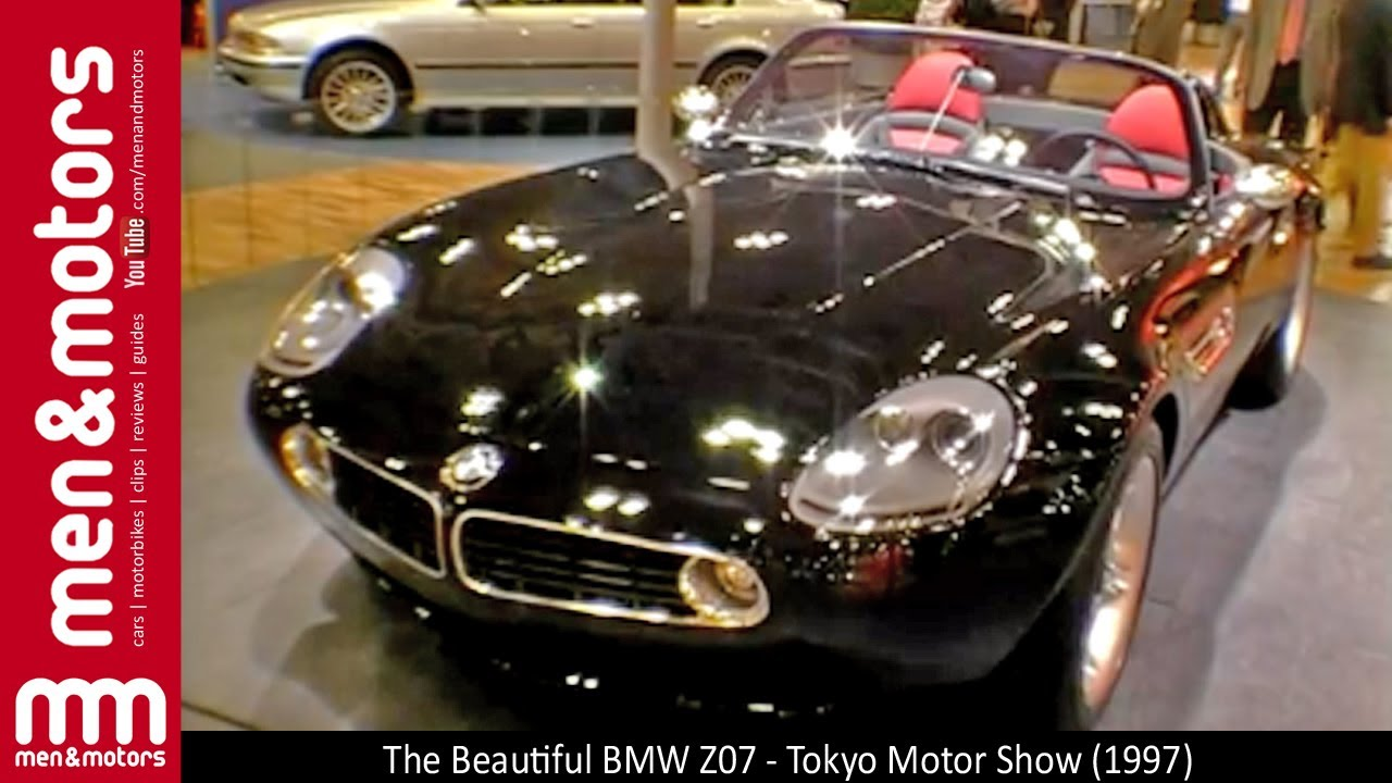 The Beautiful BMW Z07 - Tokyo Motor Show (1997) - YouTube