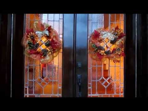 Hanging Door Wreaths