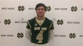 ND Football Branford Defensive Starting Lineup
