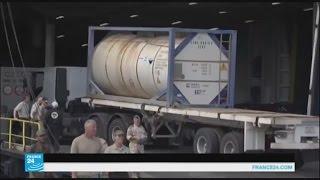 ليبيا تشحن آخر ما تبقى لديها من الأسلحة الكيميائية إلى الخارج