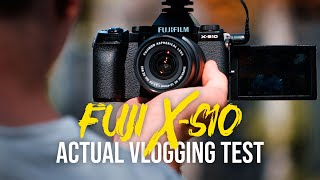 Fujifilm X-S10 Review - The Best Affordable Vlogging Camera?