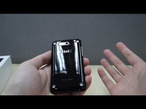 HTC Aria: Unboxing (Carrier-free Version)