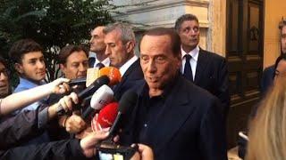 Berlusconi: centrodestra unito, esiste e resiste