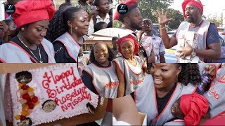 Roselyn Ngissah Surprised Bday Party When Selling The Bread