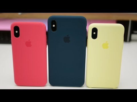 Official Apple Winter Cases for iPhone XS and iPhone XS Max