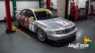 This Audi A4 Super Touring Car Has An Engine Bay FROM THE GODS
