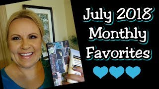 July 2018 Monthly Beauty Favorites | Best in Beauty | Over 40 Beauty Blogger