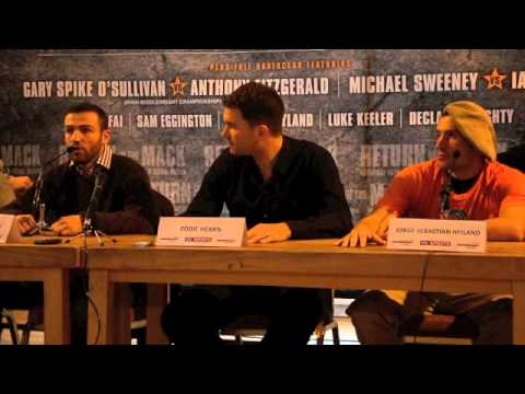 MACKLIN v HEILAND / FITZGERALD v O'SULLIVAN - FULL FINAL PRESS CONFERENCE / RETURN OF THE MACK