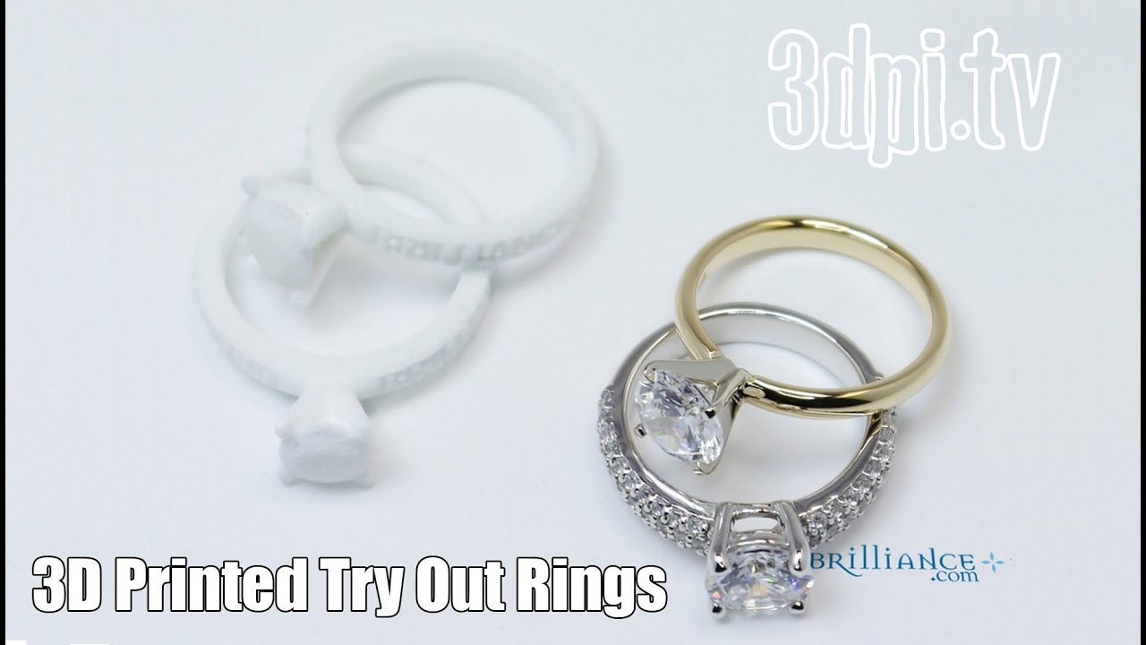 kinect rings wedding gear ring finest the printed shapes