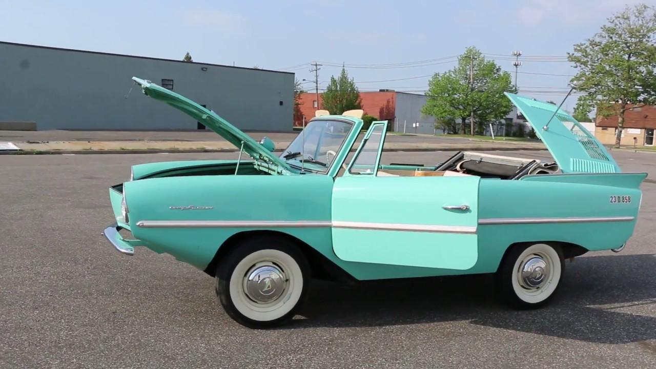 Amphicat for sale amphibious atv pictures - 1964 Amphicar 770 For Sale