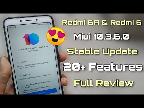 redmi-6a-miui-10.3.6.0-global-stable-update-|-20+-features-|-fix-bugs-|-full-review-😍😍