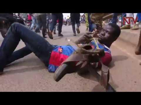 Bobi Wine arrested on his way to make police statement