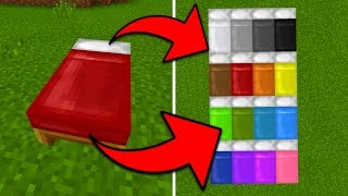 How To Dye a Bed in Minecraft Pocket Edition (1.1+)