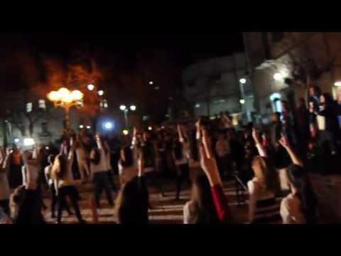 פלאשמוב ירושלים / one billion rising Jerusalem