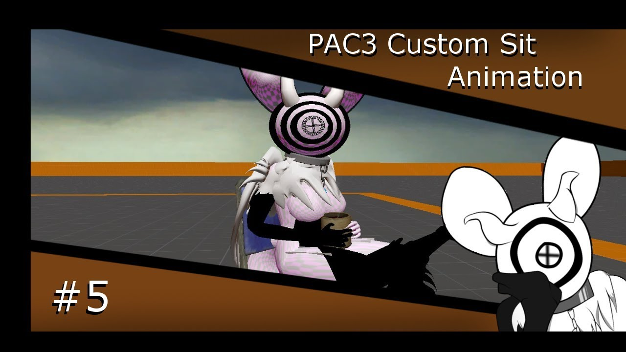 [GMOD PAC3] How To Make A Sit Animation
