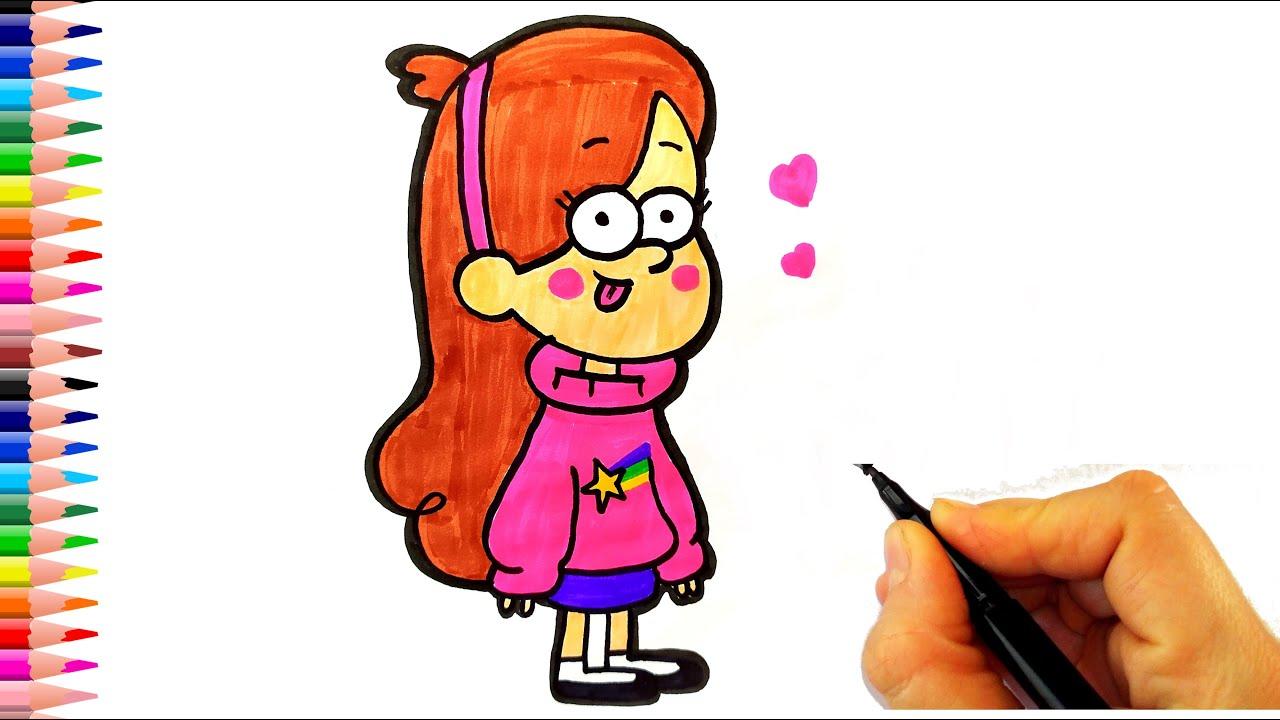 Esrarengiz Kasaba MABEL Çizimi - How To Draw Mabel