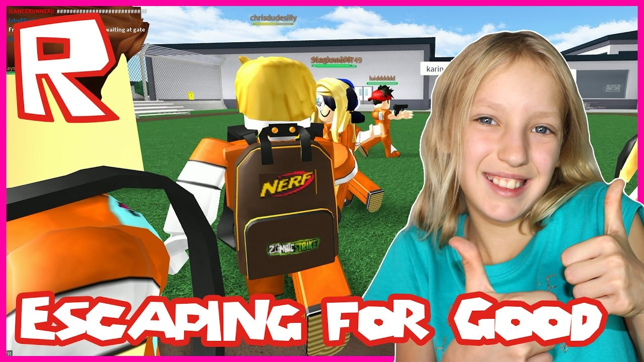 Escaping Prison For Good Roblox Prison Life Youtube
