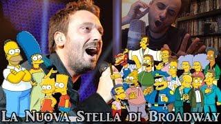 I SIMPSON cantano LA NUOVA STELLA DI BROADWAY