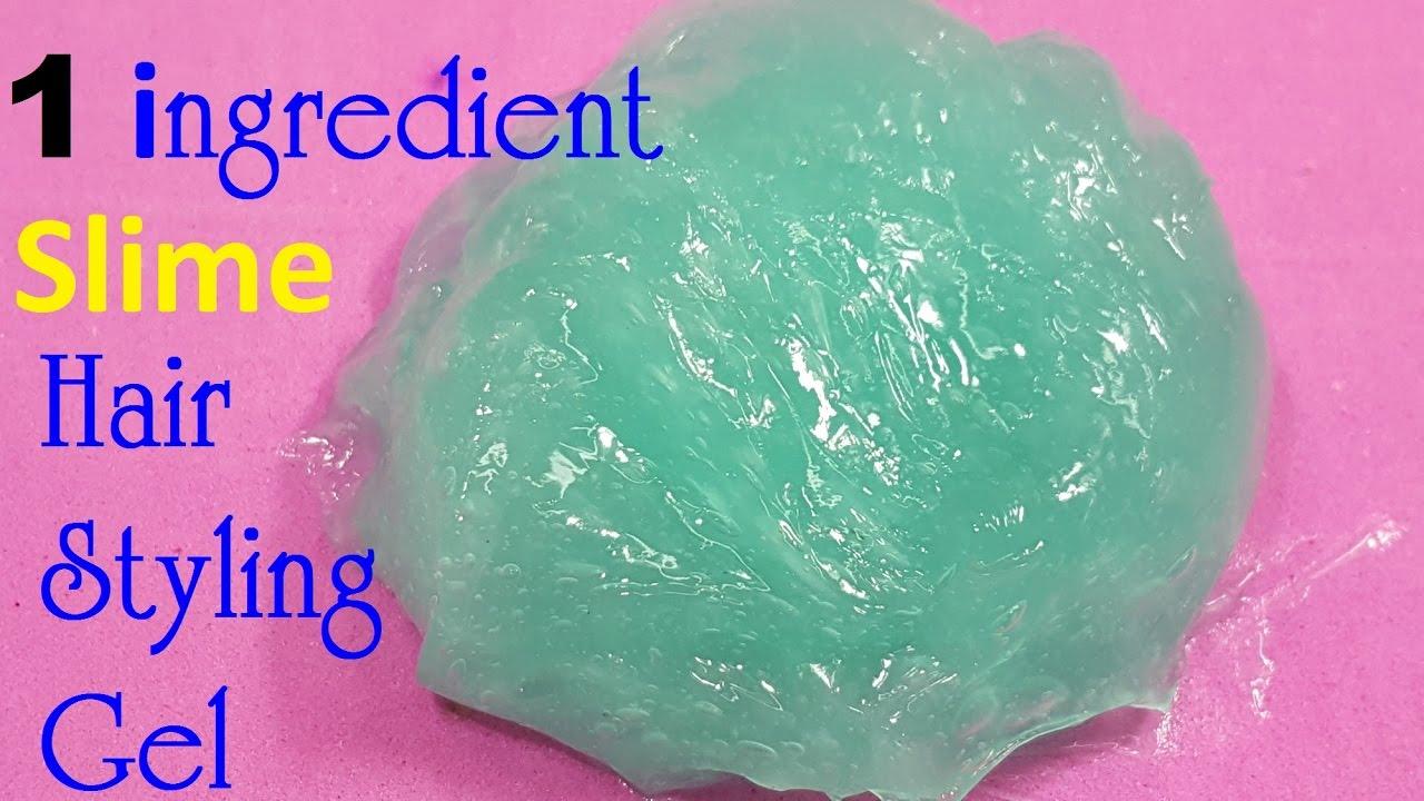 Diy slime hair styling gel 1 ingredient easy youtube diy slime hair styling gel 1 ingredient easy ccuart Images
