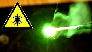 [Anleitung] mit 50mW Laser Sachen anbrennen. Richtig fokussieren. Burning Brennen Streichholz