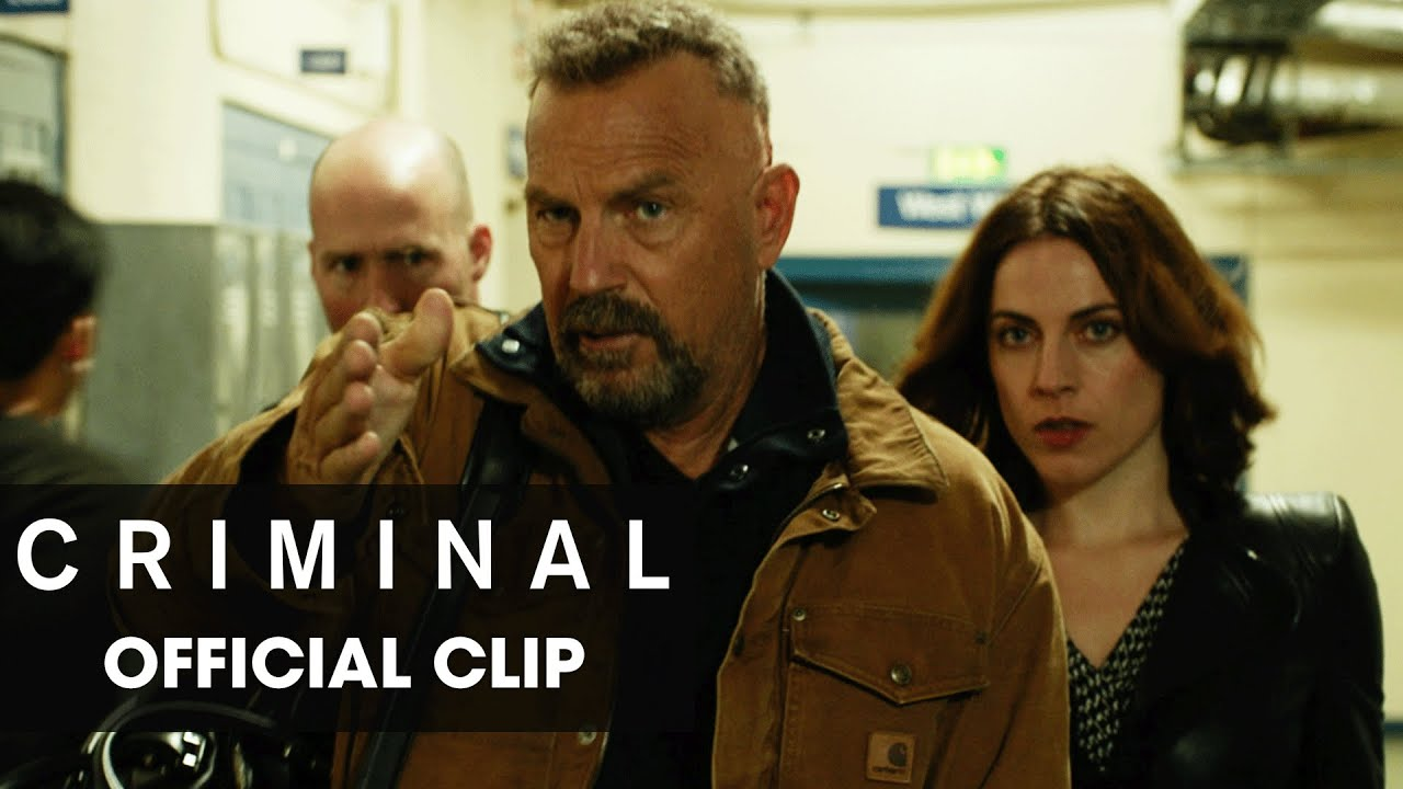 "Criminal (2016 Movie) Official Clip – ""Get Out"""