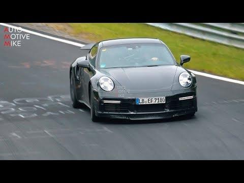 Next Porsche 911 Turbo Spied Extensively In Two Videos