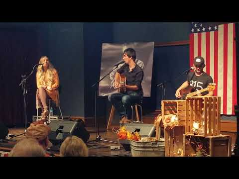 """""""IF WE MAKE IT THROUGH DECEMBER"""" Mo Pitney w/ Holly & Blake Pitney, Perry Pitney Memorial Concert."""