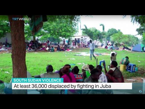 Hundreds killed in South Sudan's capital Juba. David Lamoria reports