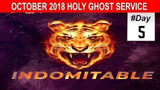"""OCTOBER 2018- RCCG HOLY GHOST SERVICE """"Indomitable"""""""