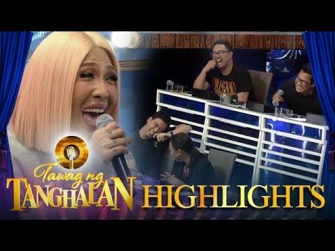 Tawag ng Tanghalan: Vice Ganda asks the hurado to impersonate Vina Morales voice