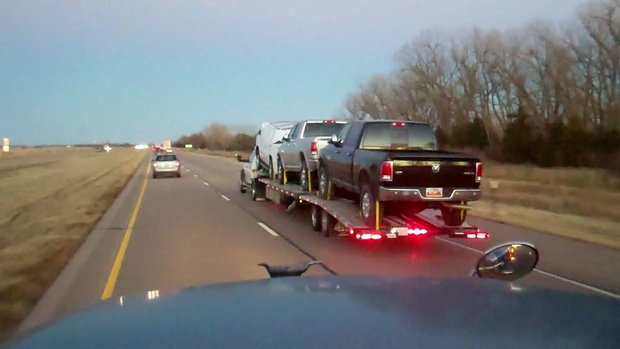 Hotshot Truck Car Transport Youtube