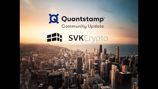 QUANTSTAMP LAUNCHED ON THE ETHEREUM MAINNET LIVE WITH RICHARD MA!