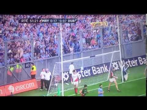 All Ireland Semi Final 2012 Dublin Scores Point 8 Stephen Cluxton