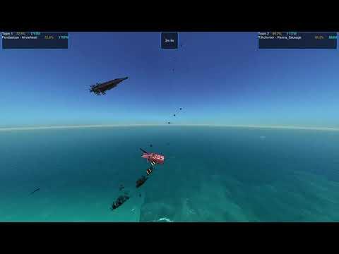 From the Depths, Wooden Winged War Tournament. Episode 24 Pendaelose vs T3hJimmer |