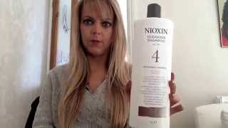 Nioxin for thinning hair my review.