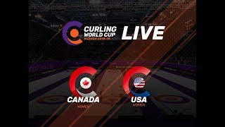 Canada v United States - Women - Curling World Cup First Leg - Suzhou