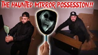 THE HAUNTED MIRROR RITUAL - THE POSSESSION OF MOE SARGI!! (ZOZO)