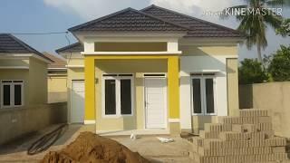 Contoh Buat Rumah Type 50 Hemat Modal 120jt Youtube