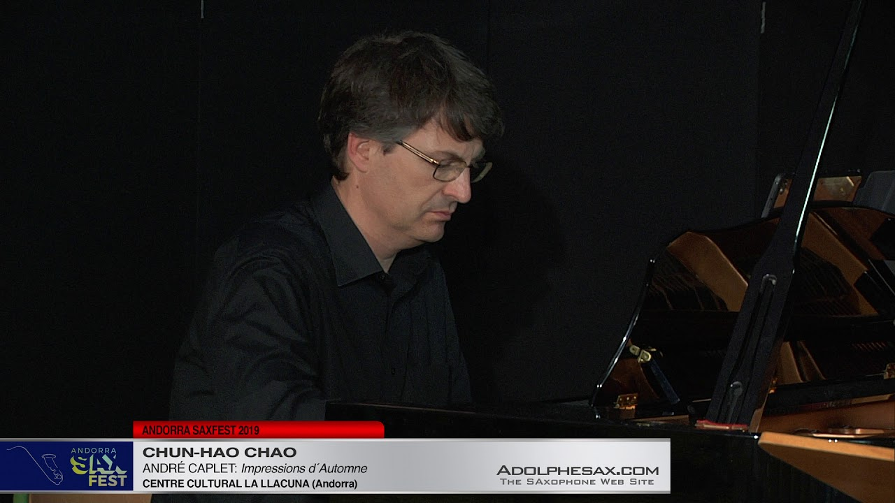 Andorra SaxFest 2019 1st Round   Chun Hao Chao   Impressions d´Automne by Andre Caplet