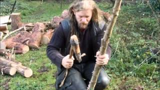 Making a Neolithic Longbow