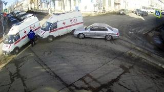ДТП в Серпухове. Врезался в