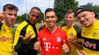 BVB FAN WIRD ZUM FC BAYERN FAN😱FUßBALL CHALLENGE