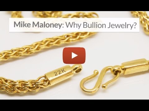 Gold & Silver Bullion Jewelry Closer To Spot Price: Mike Maloney