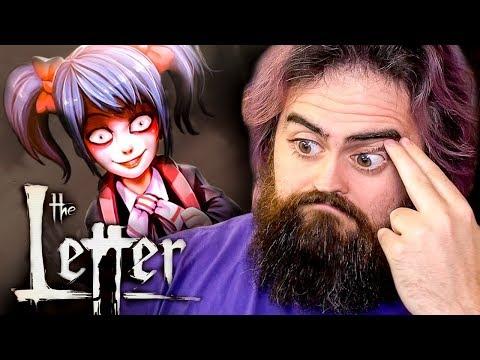 GO AWAY LITTLE GIRL   The Letter - Horror Visual Novel FULL Gameplay - Part 5