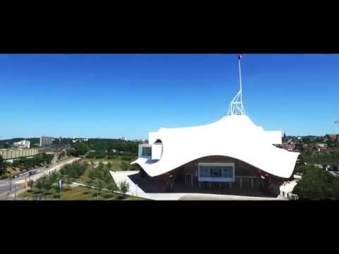 Vidéo drone Metz vue du ciel - Voyages en Lorraine - FR