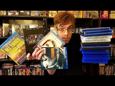 My Blu-Ray Collection Update 3/27/16 Blu ray and Dvd Movie Reviews