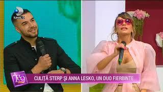 """Teo Show(08.07.)-Anna Lesko si Culita Sterp, un duo fierbinte! """"Sa nu-i pup buzitele alea perfecte!"""""""