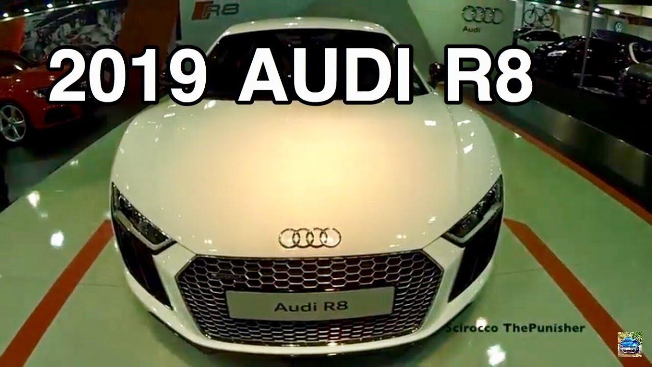New 2019 Audi R8 V10 Plus Youtube