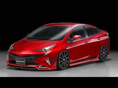 2016 Prius Body Kit >> 2016 Toyota Prius Looks More Aggresive with Wald International's Body kit - YouTube
