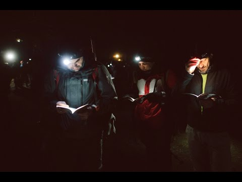 FOTO Dominik Imielski: Ekstremalna Droga Krzyżowa - Bielsko-Biała Beskidy